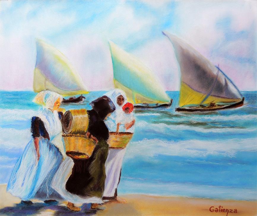tres barcos