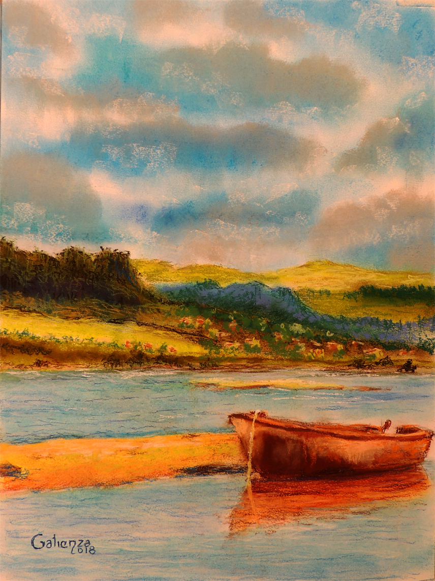La barca varada